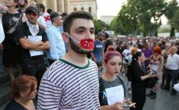 В Тбилиси начался новый митинг с требованиями отставки главы МВД