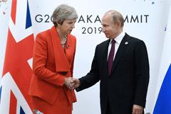 Мэй заявила Путину о доказательствах причастности РФ к отравлению Скрипалей