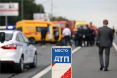 Крупное ДТП с жертвами произошло на Кутузовском проспекте в Москве