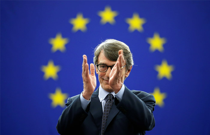 Главой Европарламента избран итальянский социалист Давид-Мария Сассоли
