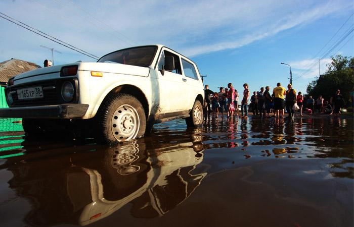 В Иркутске начали готовиться к паводку из-за повышения воды в притоке Ангары