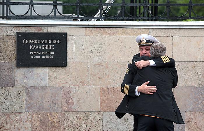 В Петербурге похоронили погибших в Баренцевом море моряков