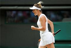Украинка Свитолина впервые вышла в полуфинал турнира Большого шлема