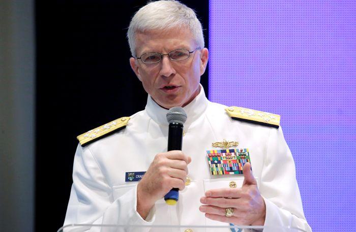 Американский адмирал заявил о присутствии в Венесуэле российских войск
