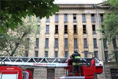 В Росархиве признали, что при пожаре в РГАЛИ могли пострадать сотни документов