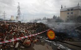 Пожар близ ТЭЦ в Мытищах ликвидирован