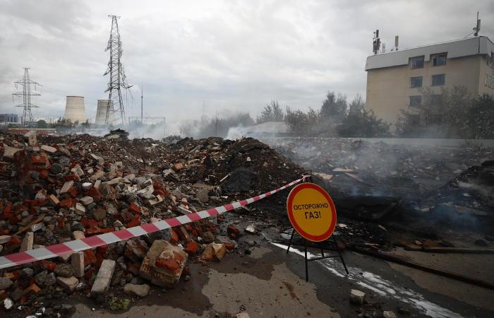 Пожар на ТЭЦ в Мытищах ликвидирован