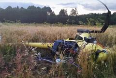 В крушении вертолета погиб глава федерации сверхлегкой авиации России