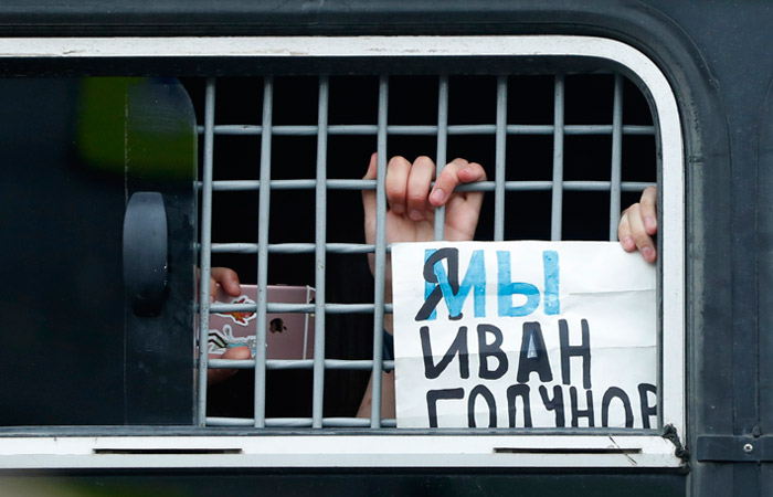 Уголовное дело на задержавших Голунова полицейских не заведено