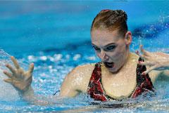 Ромашина стала 20-кратной чемпионкой мира по синхронному плаванию