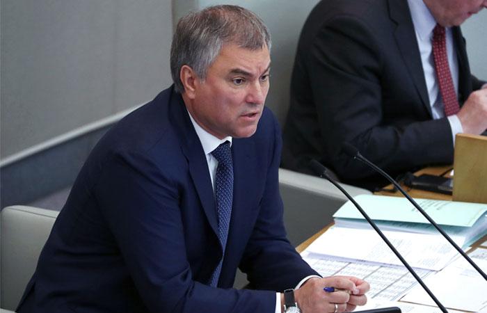 """В Кремле назвали предложение Володина об изменении Конституции """"темой для дискуссии"""""""