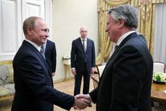 Shell пообещала Путину еженедельно открывать по одной новой АЗС в России