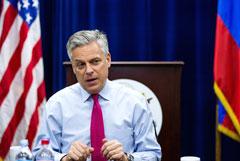 Посол США в России Джон Хантсман подал прошение об отставке