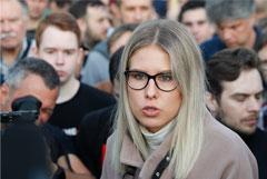 Любовь Соболь пожаловалась в Мосгоризбирком на отказ в регистрации