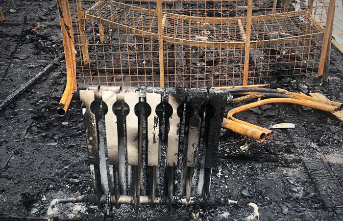 Умерли еще две девочки, пострадавшие при пожаре в палаточном лагере