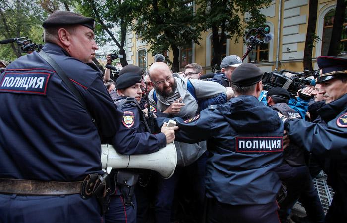 СК возбудил уголовное дело из-за митинга у Мосгоризбиркома