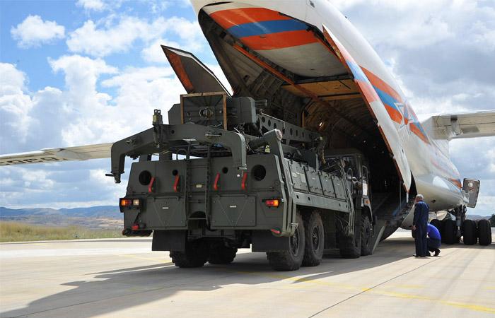 Завершена передача Турции первой партии российских С-400