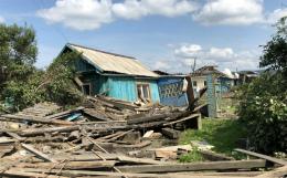 В пострадавшем ранее от паводка Тулуне вновь подтопило дома