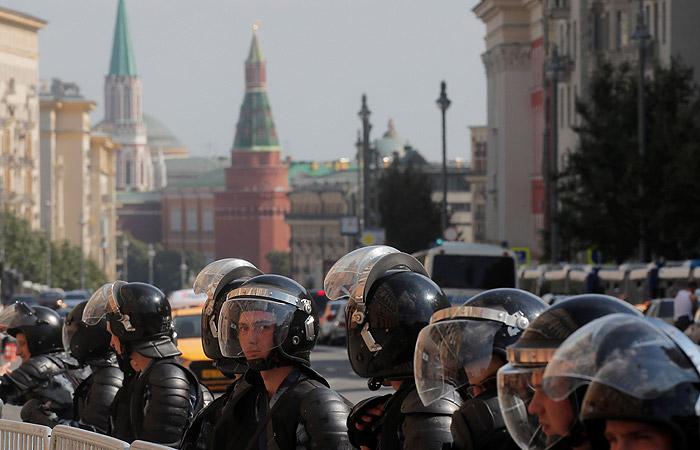 Более 600 нарушителей порядка в ходе акции оппозиции в столице оказались немосквичами