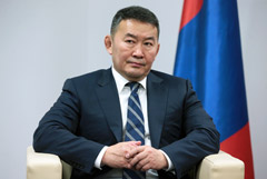 Халтмаагийн Баттулга: в Монголии ждут с визитом Путина к 80-летию победы на Халхинголе