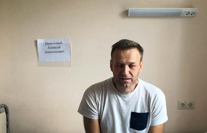 Медики не обнаружили отравляющих веществ в организме Навального