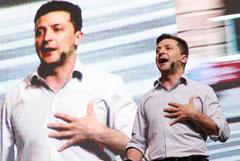 Зеленский занял второе место после Путина по упоминаемости в российской прессе