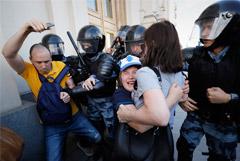 Мосгорсуд сообщил о 88 арестах и 330 штрафах для участников акции 27 июля