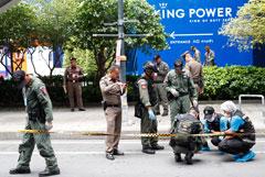 Шесть взрывных устройств сработали в Бангкоке, где проходит форум АСЕАН