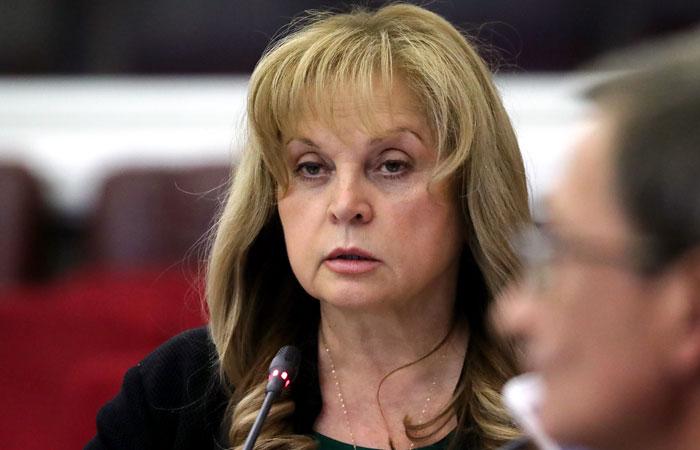 Памфилова назвала безответственными призывы на несанкционированные митинги