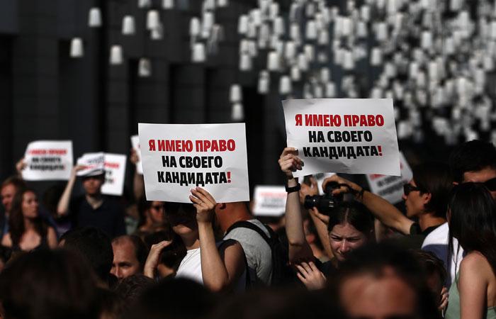 Префектура ЦАО не согласовала пикеты на бульварах 3 августа