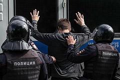 Московская полиция сообщила о 30 задержанных на акции оппозиции