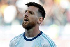 Месси отстранили на три месяца от матчей за Аргентину