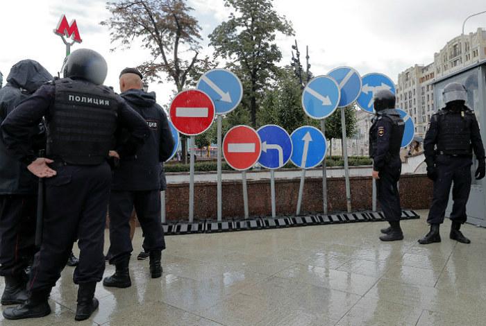 Более 50 подростков задержано на субботней акции в Москве