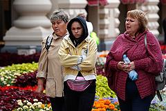 Августовский холод установил в воскресенье рекорд в столице