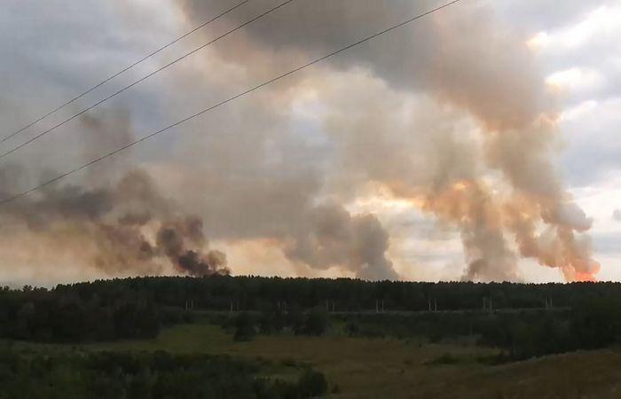 Число пострадавших при взрыве на военных складах в Ачинске выросло до 10