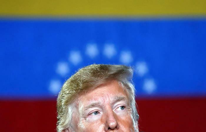 Трамп подписал указ блокирующий имущество правительства Венесуэлы в США