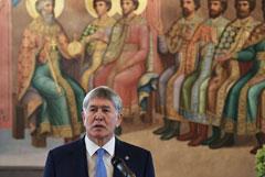 Спецназ пошел на штурм дома экс-президента Киргизии Атамбаева