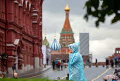 Жителей Центральной России предупредили о грозах и ливнях в пятницу и выходные