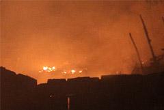 На территории резиденции Атамбаева возник пожар