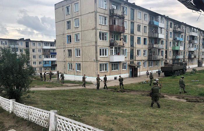 Новые взрывы снарядов в Красноярском крае начались во время разминирования