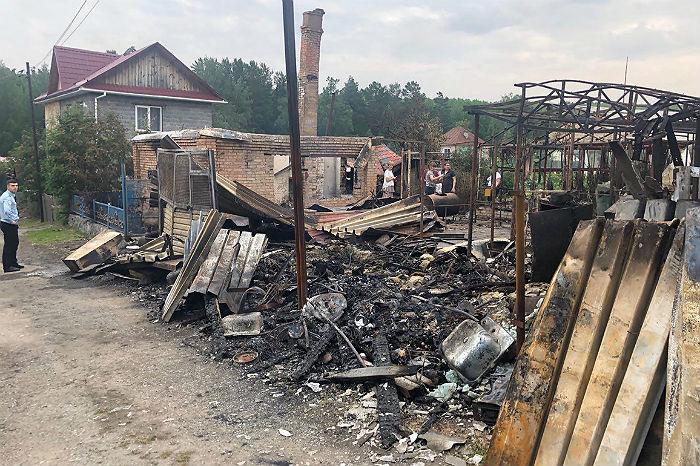 ВКрасноярском крае произошли новые взрывы. Есть пострадавшие