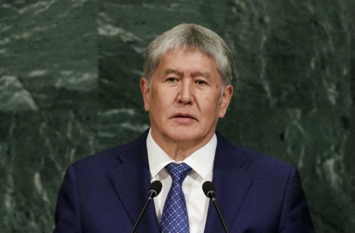 Экс-президента Киргизии Атамбаева поместили в СИЗО