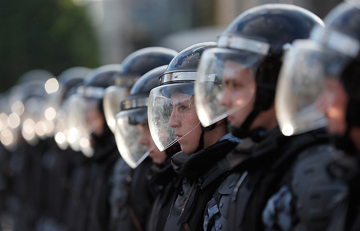 В Москве задержали 136 участников несогласованной акции