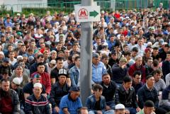 Движение транспорта ограничат в Москве из-за празднования Курбан-байрама