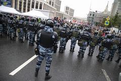 Митинг в поддержку незарегистрированных кандидатов в Москве. Обобщение