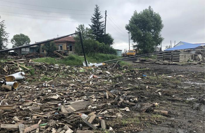450 домов в Тулуне оказались не подлежащими ремонту после второго паводка
