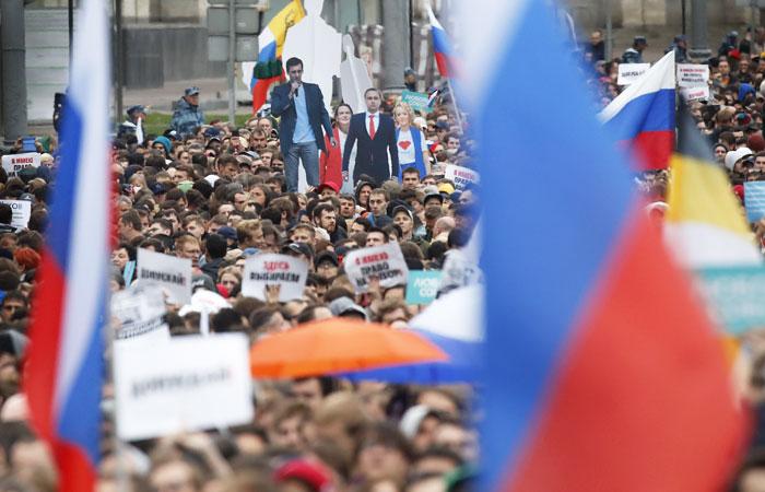 Оппозиционеры подали заявку на митинг 17 августа в Москве