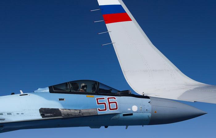 В НАТО заявили, что не знали о приближении F-18 именно к самолету Шойгу