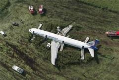 Севший на подмосковное поле самолет не будут восстанавливать
