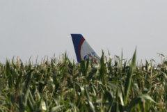 СКР опроверг слухи о мародерах на месте аварийной посадки лайнера А321